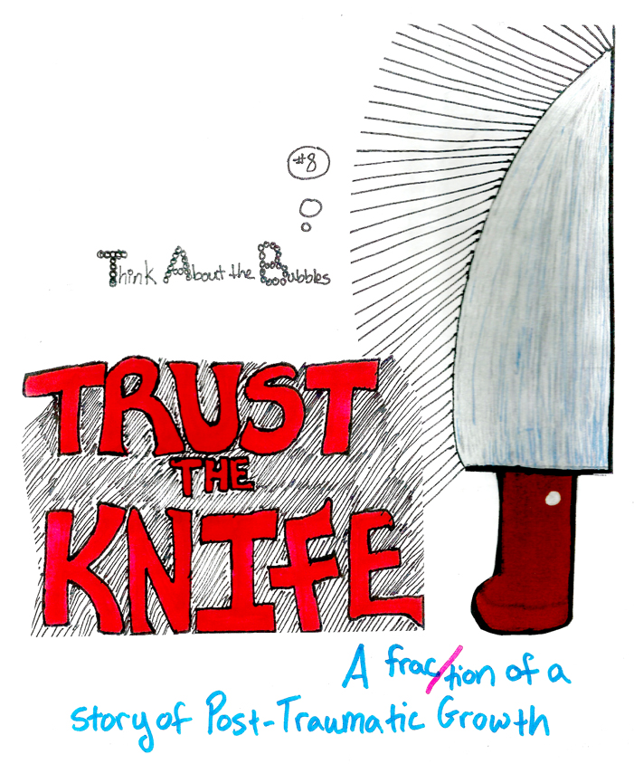 Trust the Knife © Joyce Hatton